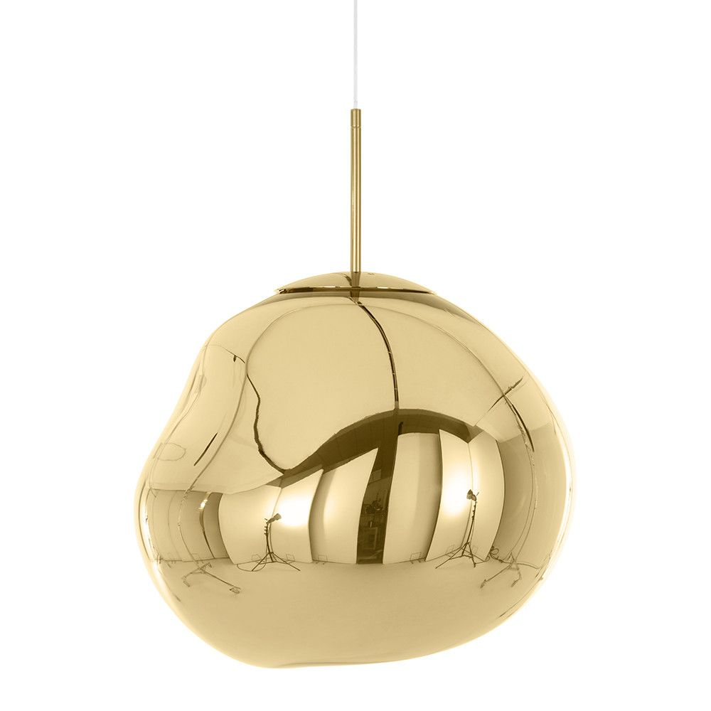 Buy Tom Dixon Melt Gold Pendant Light Big Lampe Suspendue Tom Dixon Lampe Suspension