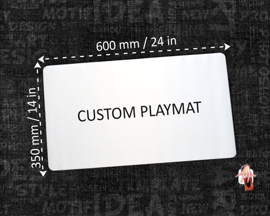 Custom Playmat For Any Tcg Standard Size Tabletop Gaming Card Etsy Playmat Custom Card Games