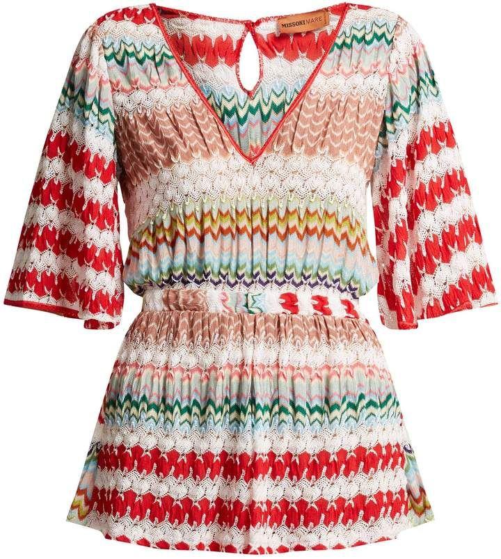 d28de1092fd8de Missoni MARE Crochet-knit playsuit | Products in 2018 | Pinterest ...