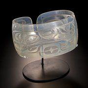 Nuu-chah-nulth Grey Whale Bracelet Sculpture Joe David/Preston Singletery