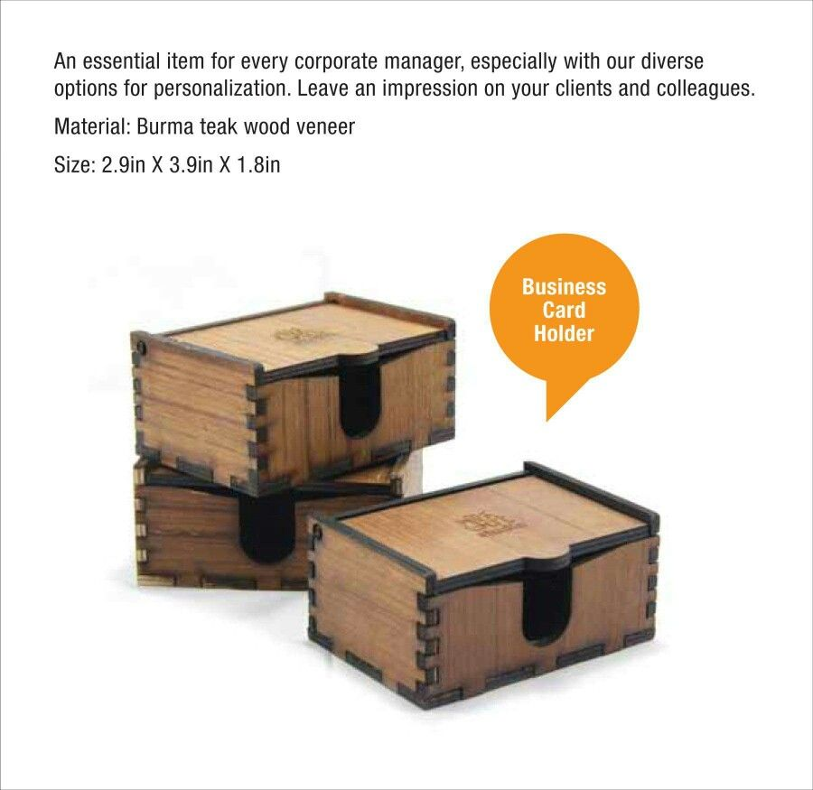 Laser cut and engraved business card box | Laser cutting and ...