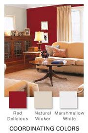 Glidden Red Delicious For Cabinets At