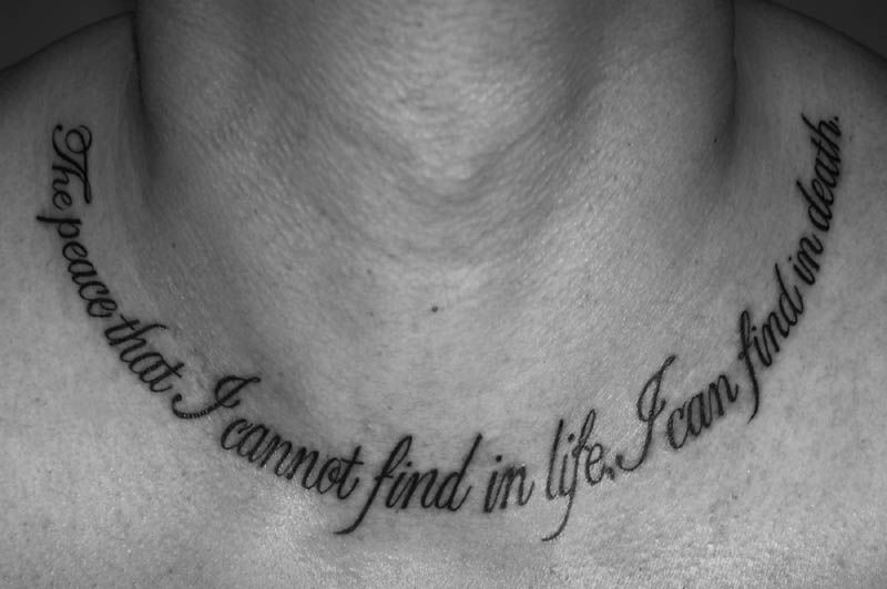 Pin On Cross Necklace Tattoo
