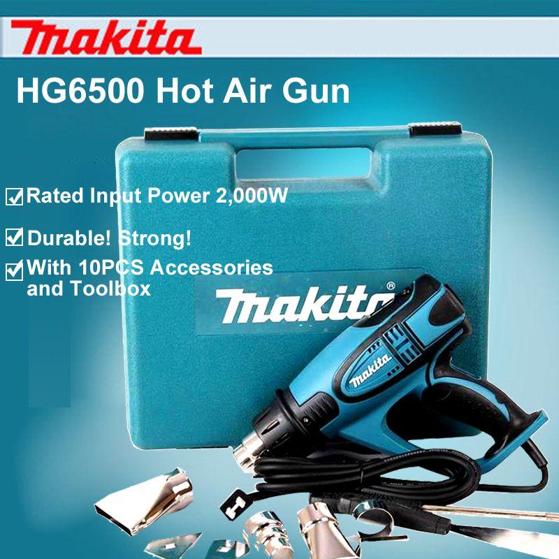 Japan Makita HG6500 Hot Air Blower Digital Car Foil Electric
