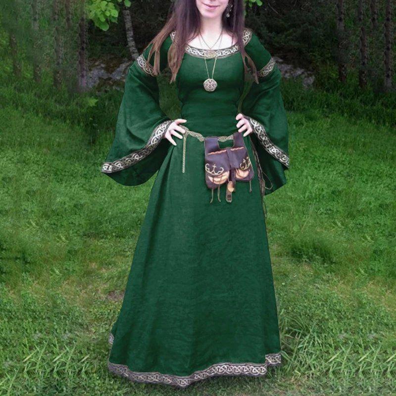 Hochzeitskleid Mittelalter rot schwarz blau grün violett ...