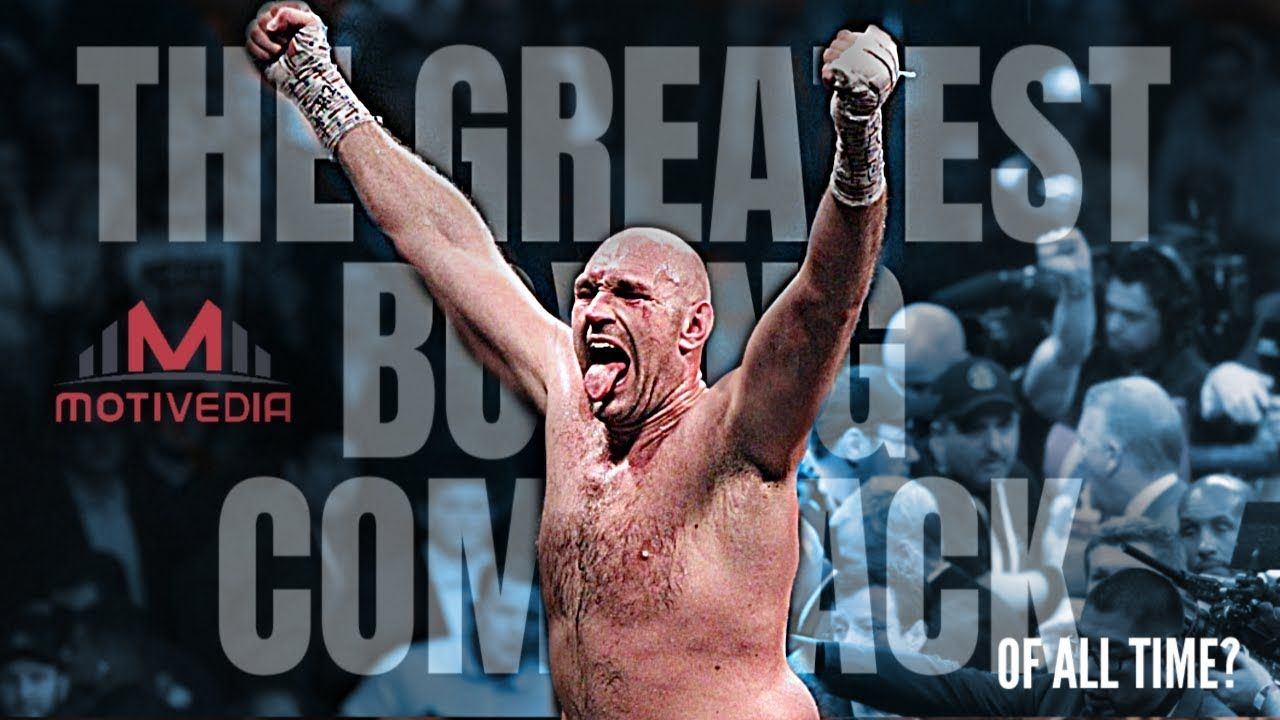 TYSON FURY The Greatest Boxing Comeback of All Time