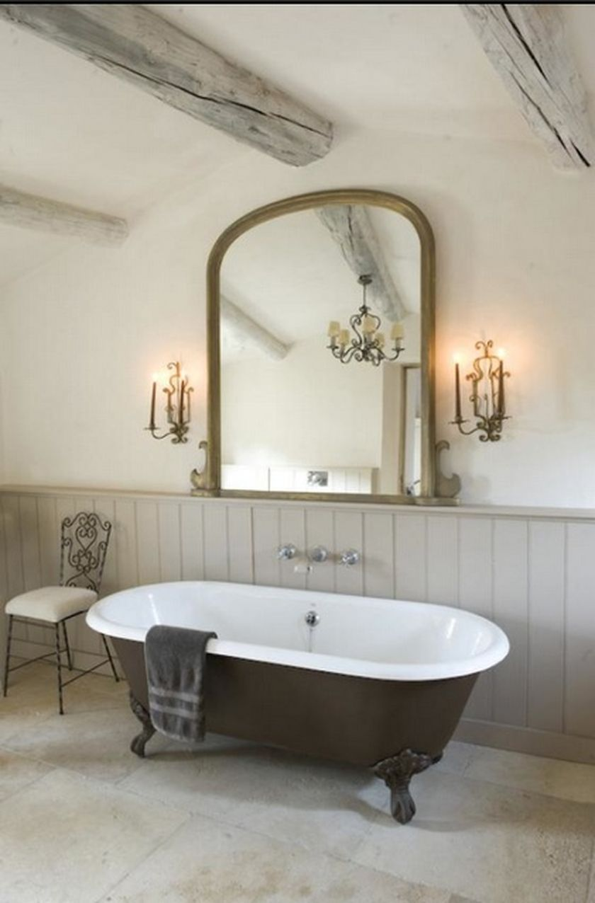 Awesome Country Mirror Bathroom Decor Ideas | Mirror bathroom ...