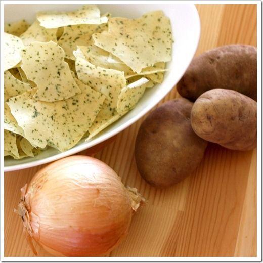 The Best Sour Cream Onion Potato Chips Recipe Joyful Abode Homemade Sour Cream Potato Chip Recipes Sour Cream And Onion