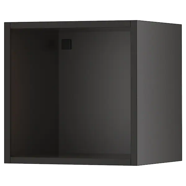 Tutemo Open Cabinet Anthracite 15x14 3 4x15 In 2020 With Images Open Cabinets Open Storage Kitchen Cabinets Fronts