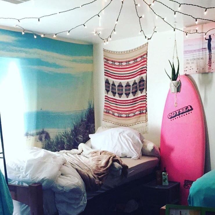 My Roommate Called Me Crazy For Having A Surfboard In Dorm Room More