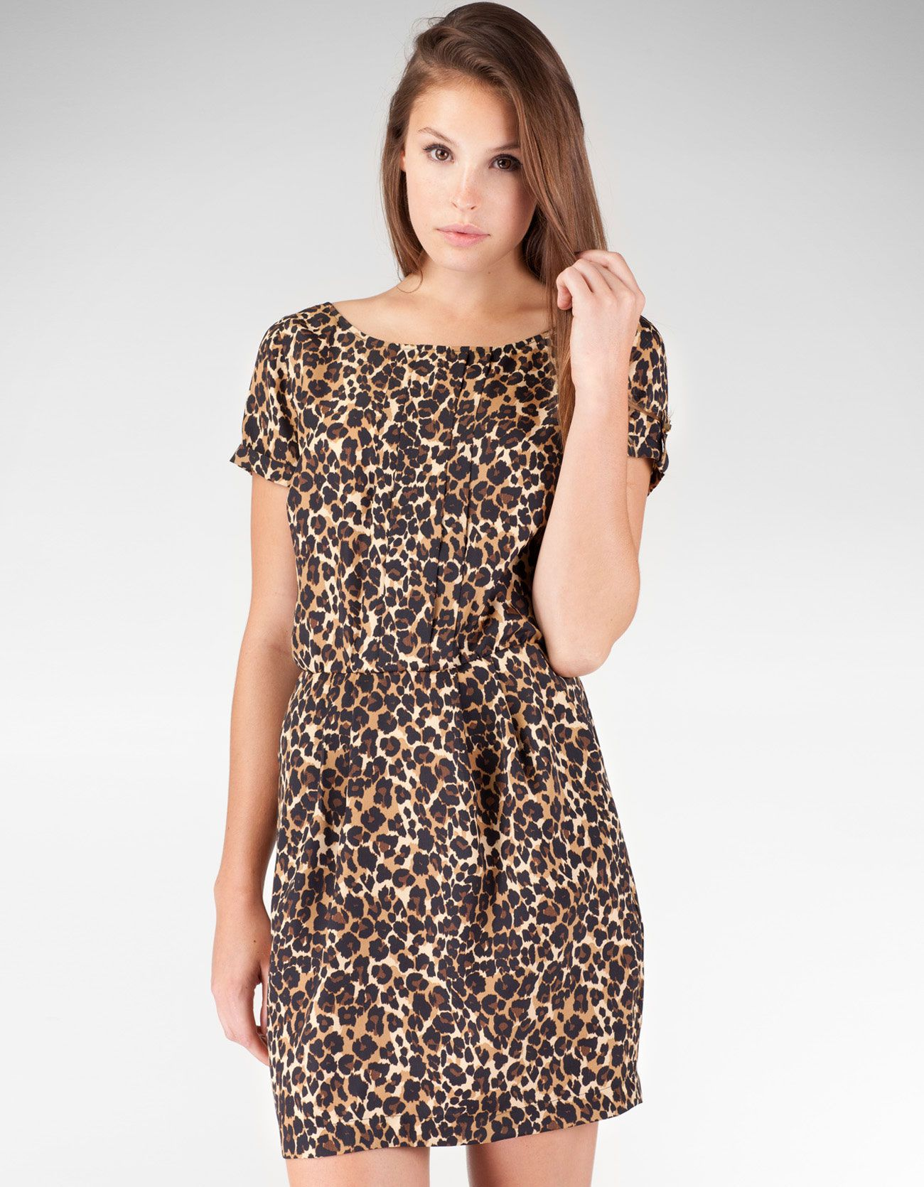 Sukienka animal print | Dresses | Pinterest