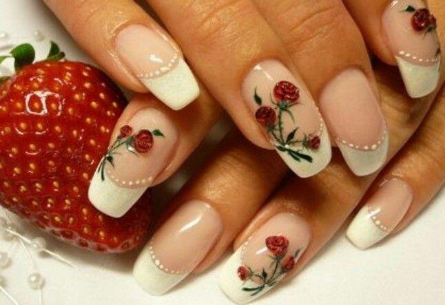 Rose Nail Art Design - Rose Nail Art Design Nail Art Designs Pinterest Rose Nail