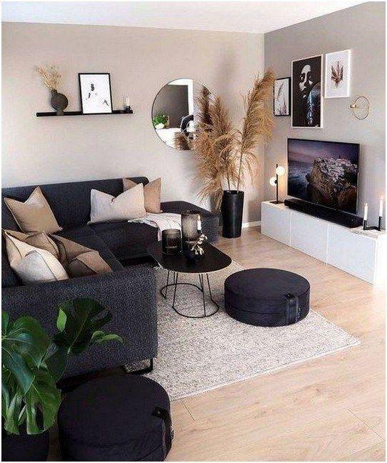 Photo of 58 Apartment Apartment Wohnzimmer Dekorieren Ideen, die Sie zu Hause fühlen 57