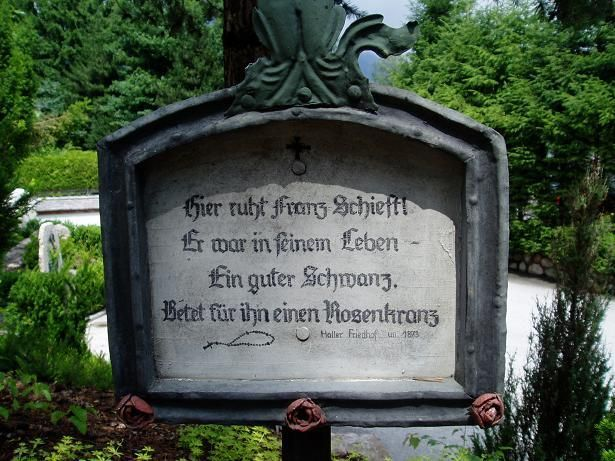 Awesome Kuriose Friedhofstafeln Seite Gartenfreunde Mein sch ner Garten online