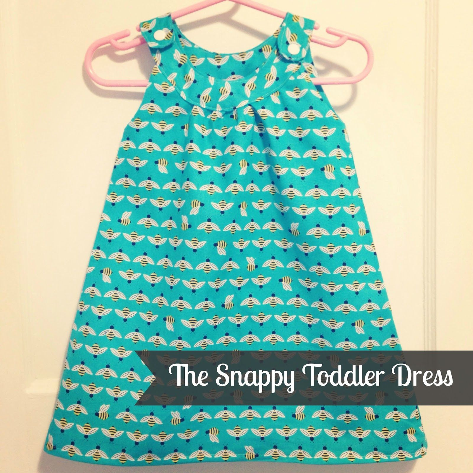 tutorial for dress version of Pretty Prudent´s Snappy Toddler Top ...