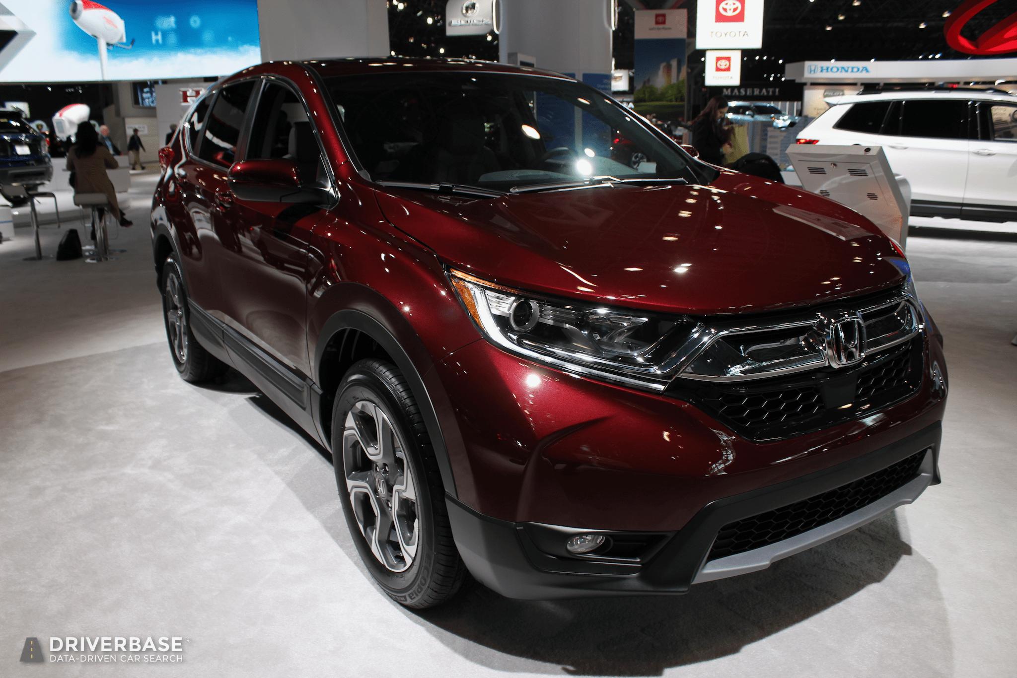 2020 Honda CRV SUV at the 2019 New York Auto Show Honda