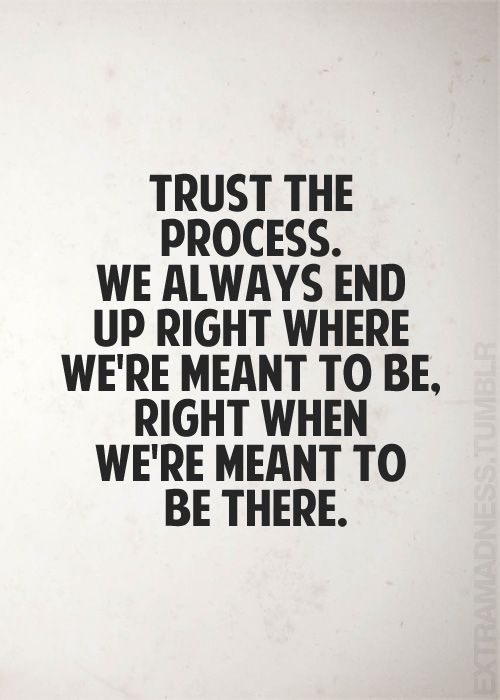 Image result for trust the process quote
