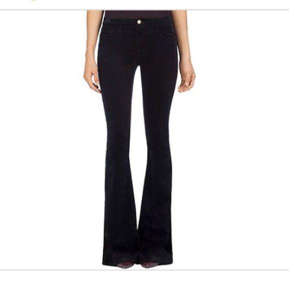 J Brand 1197 Velvet Martini Flare Jeans | Velvet, Flare and Cs