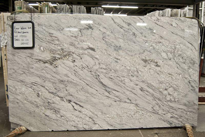 River White Granite Countertop Polished