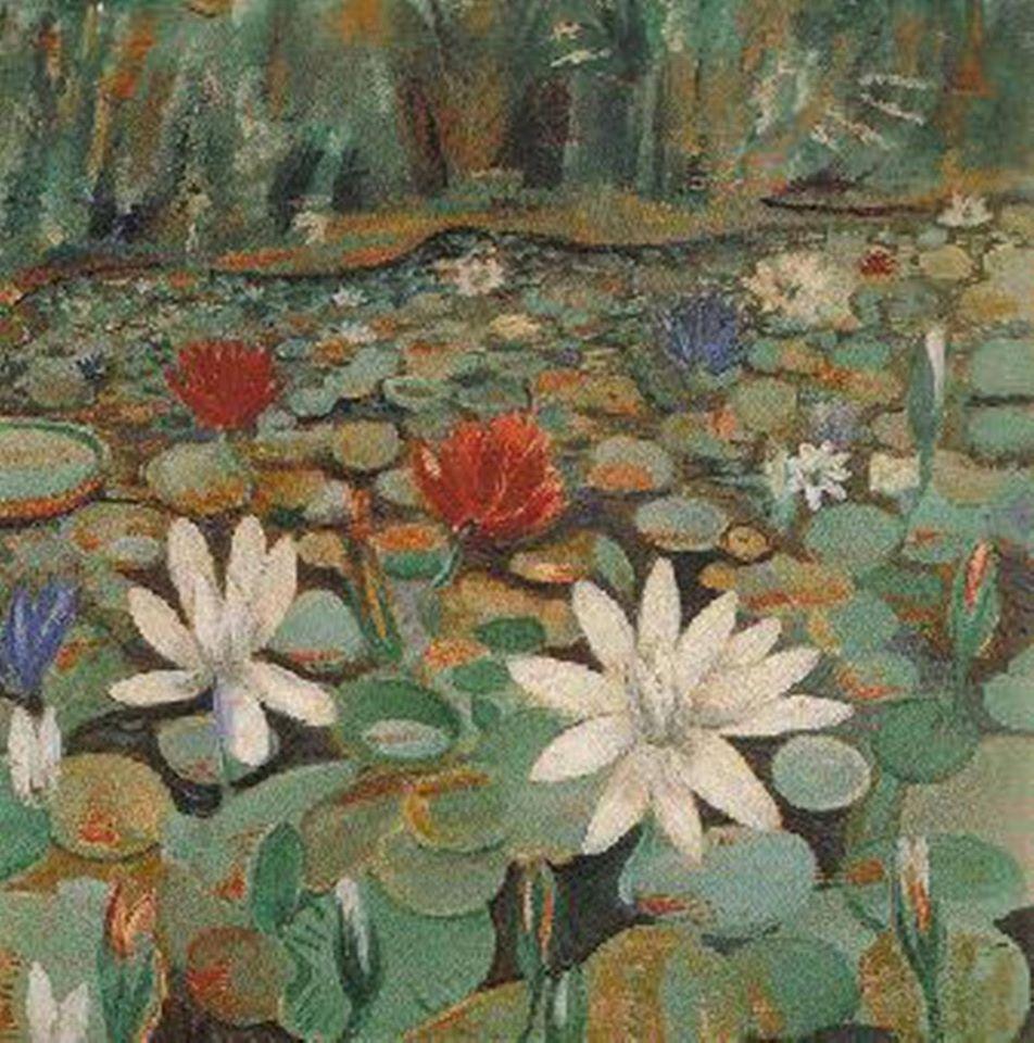 Jardim botânico-  Alberto da Veiga Guignard (1937)