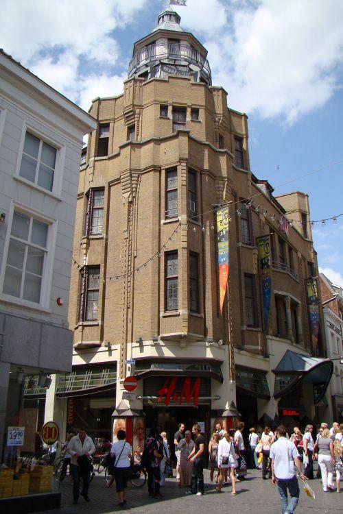 Shopping Arcade De Barones Breda Stad Oude Foto S Foto