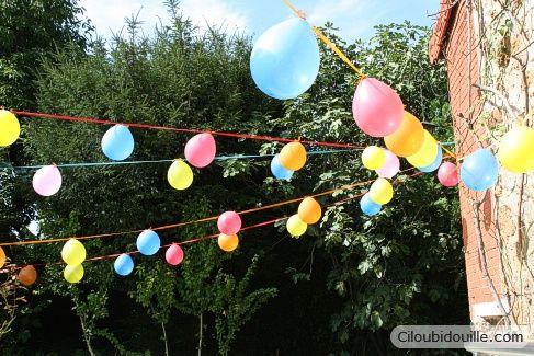 D co ballons ciloubidouille anniversaire fete pinterest - Anniversaire jardin d acclimatation ...