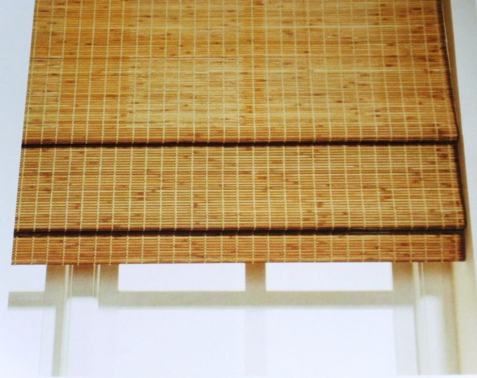 Home Interiors Affordable Bamboo Blinds With Curtains Also Bamboo