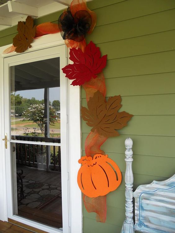 List of Latest Thanksgiving Decoration DIY Project 1