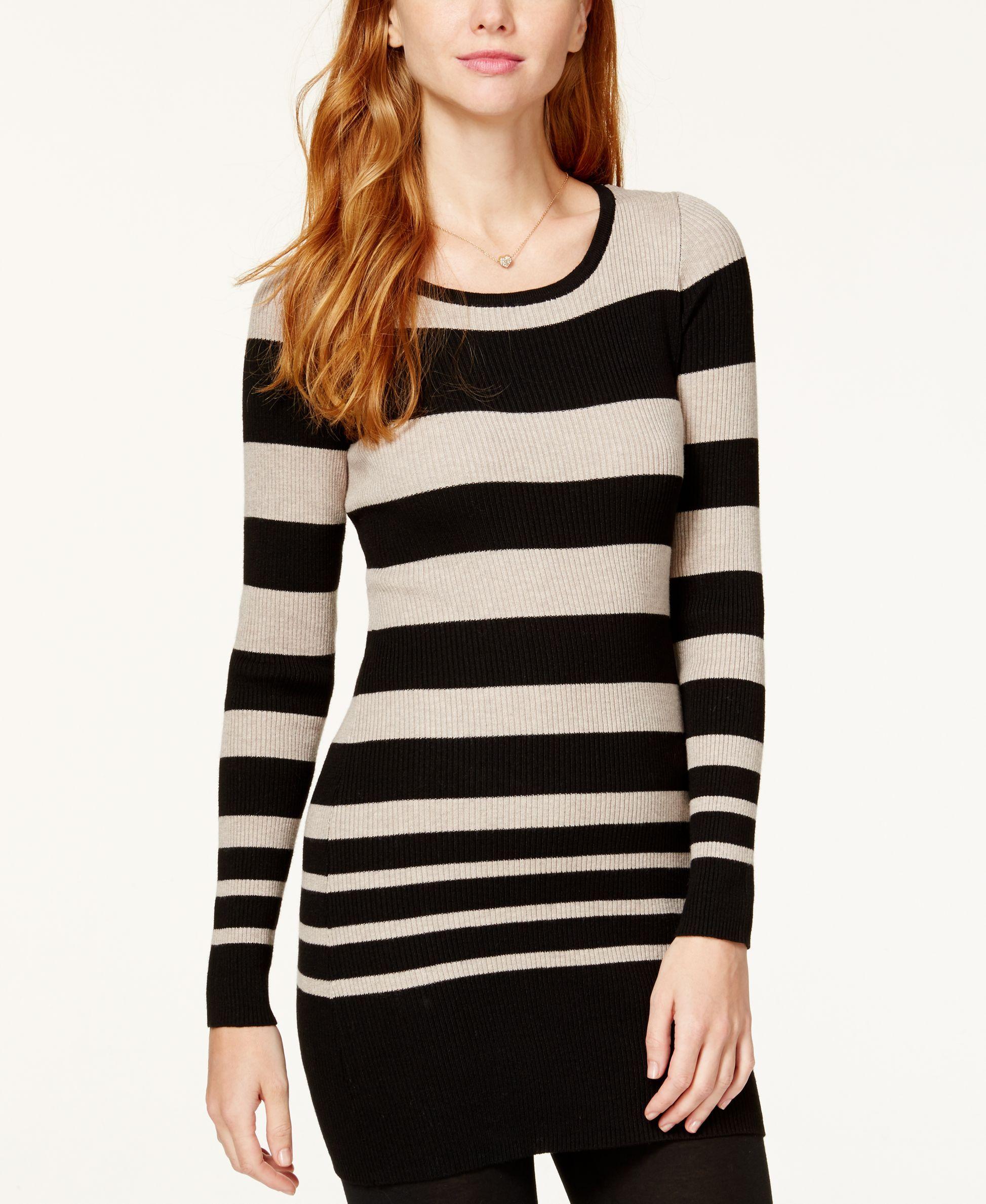 Bcx Juniors' Striped Tunic Sweater | Products | Pinterest | Tunic ...
