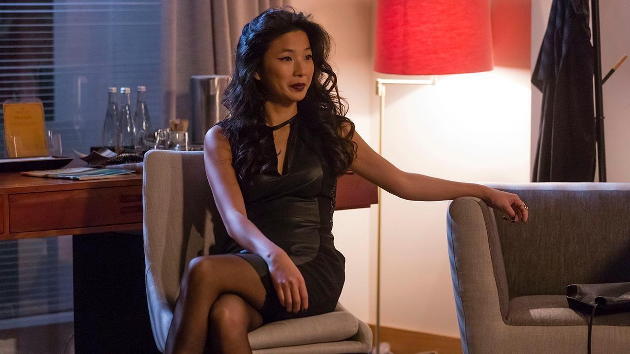 Jani Zhao Como Susana Wang Anna Eremin Como Catia Sobral Em Jogo Duplo Dupla
