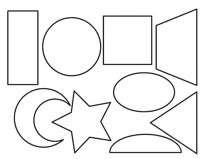 Dibujos Geometricos Para Colorear E Imprimir Gratis Figuras