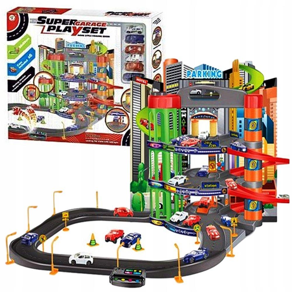 Garaz Parking Xxl 3 Poziomy Winda Dzwieki 6 Autek 8202407400 Oficjalne Archiwum Allegro Park Settings Xxl