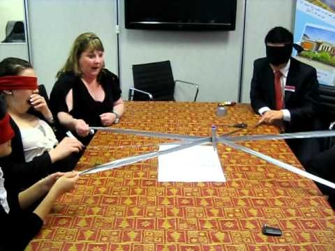 Robot Writer Duct Tape Teambuilding Game Youtube