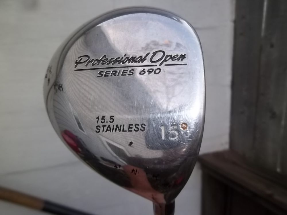 Professional Series 690 15.5 Stainless 15 Degree Driver Dynamic Gold Shaft USA #ProfessionalOpen