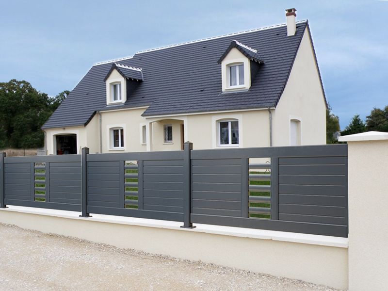 cloture contemporaine design 1 cl ture jardin