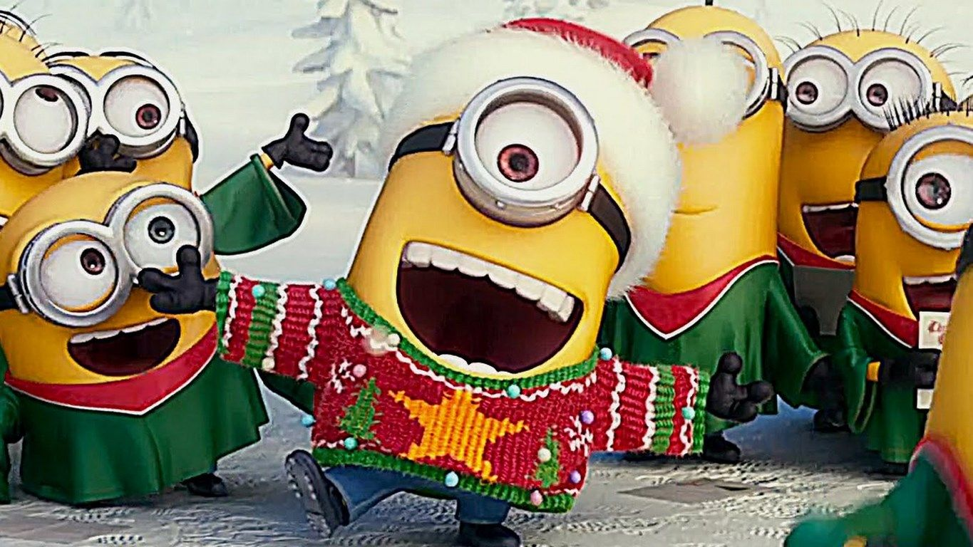 Funny Minions Christmas images (10:52:26 PM, Friday 11, December 2015 PST) – 10 pics