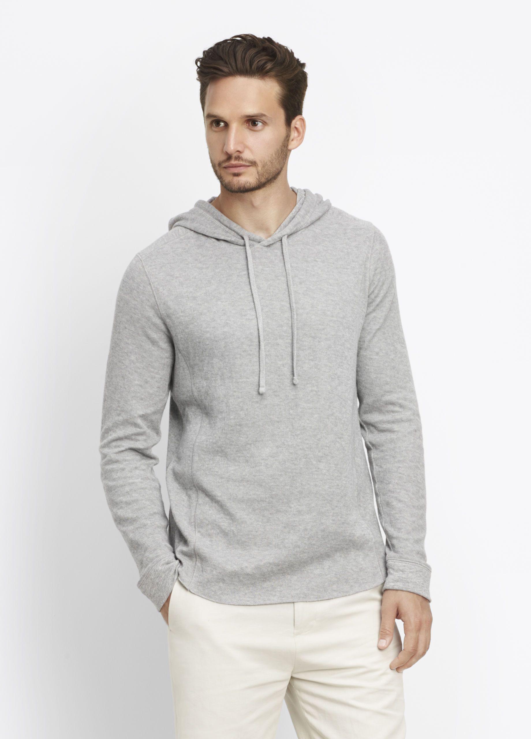 Raw Edge Hoodie For Men Vince Hoodies Mens Sweatshirts Hoodie Hoodies Men [ 2560 x 1840 Pixel ]