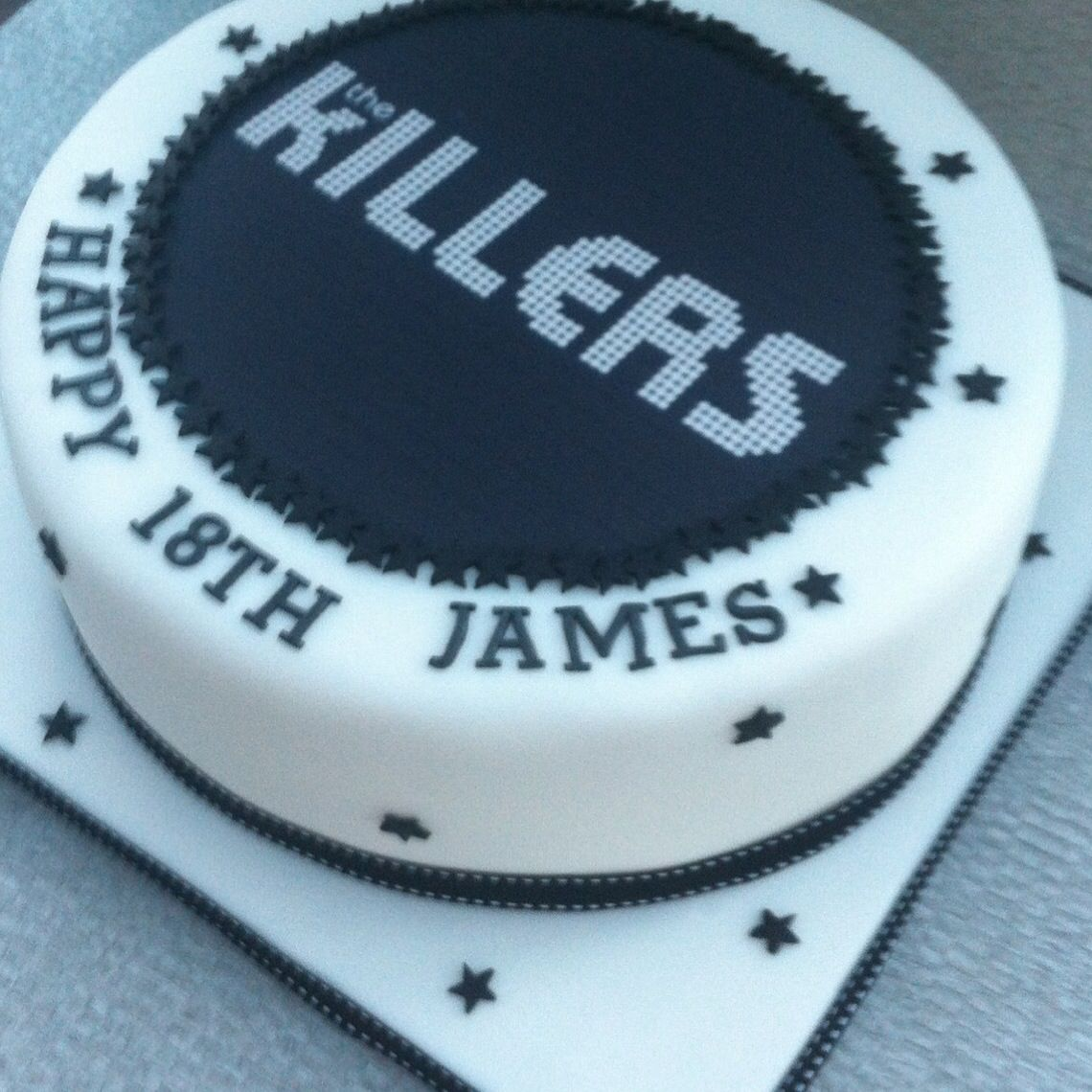 Killers cake happy birthday james cupkates pinterest cake killers cake happy birthday james altavistaventures Choice Image