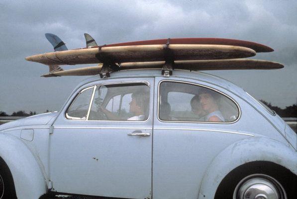 1979 Vw Volkswagen Beetle Bug Surfboard Car Rack Beach Rides Vw Beetles