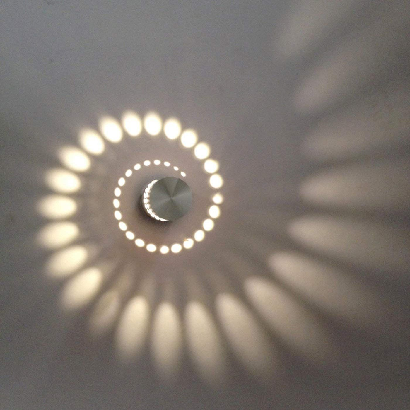 Coocnh Applique Murale Interieur Led Effet Moderne 3w Blanc Chaud En Aluminium Lampe De Mur Decorative Applique Murale Interieur Interieur Led Applique Murale