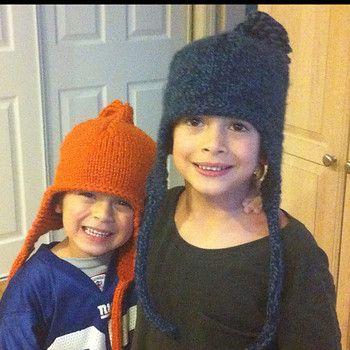 Quick And Easy Bulky Knit Earflap Hat Pattern Earflap Hatshoods