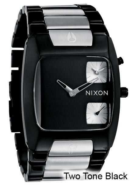 nixon the banks in two tone black watch design nixon watches yahoo image search results