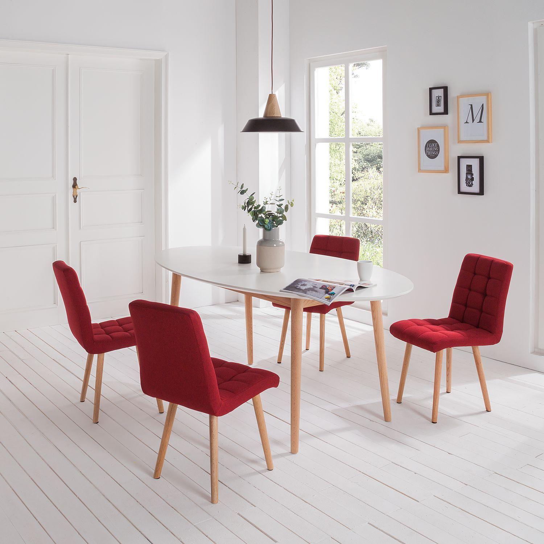Polsterstühle Esszimmer | Esstühle mit bequemer Polsterung | home24