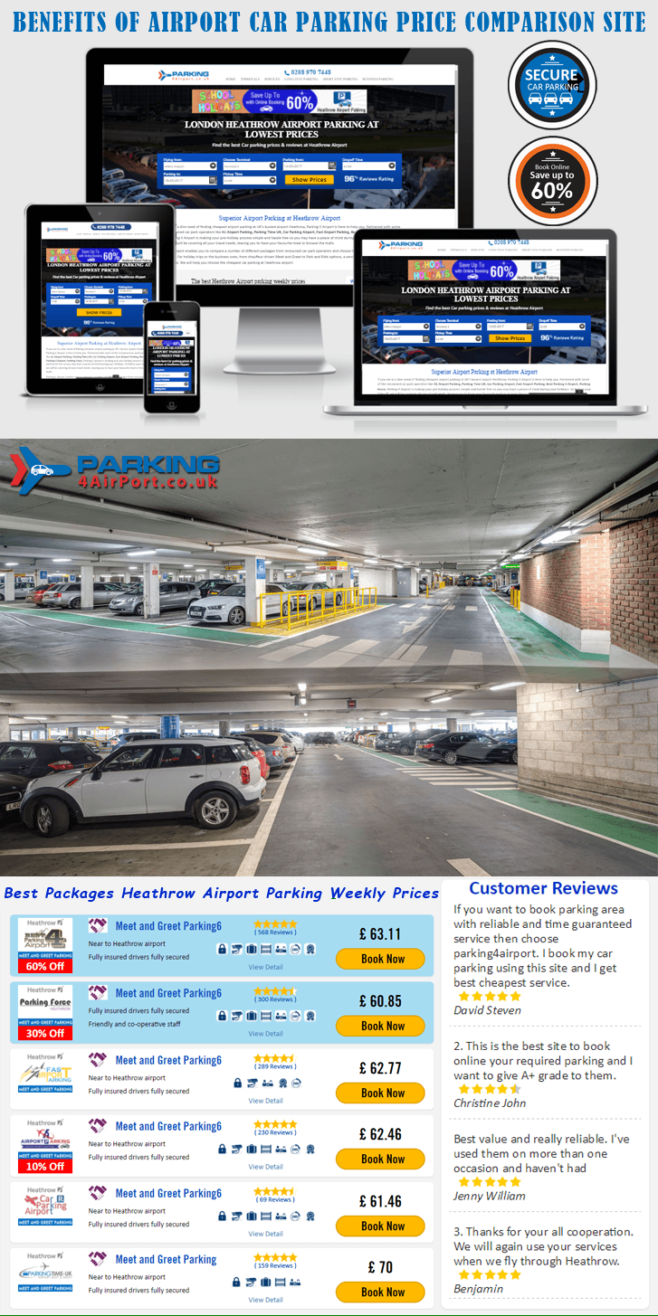 5 Benefits of Using Airport Car Parking Price Comparison