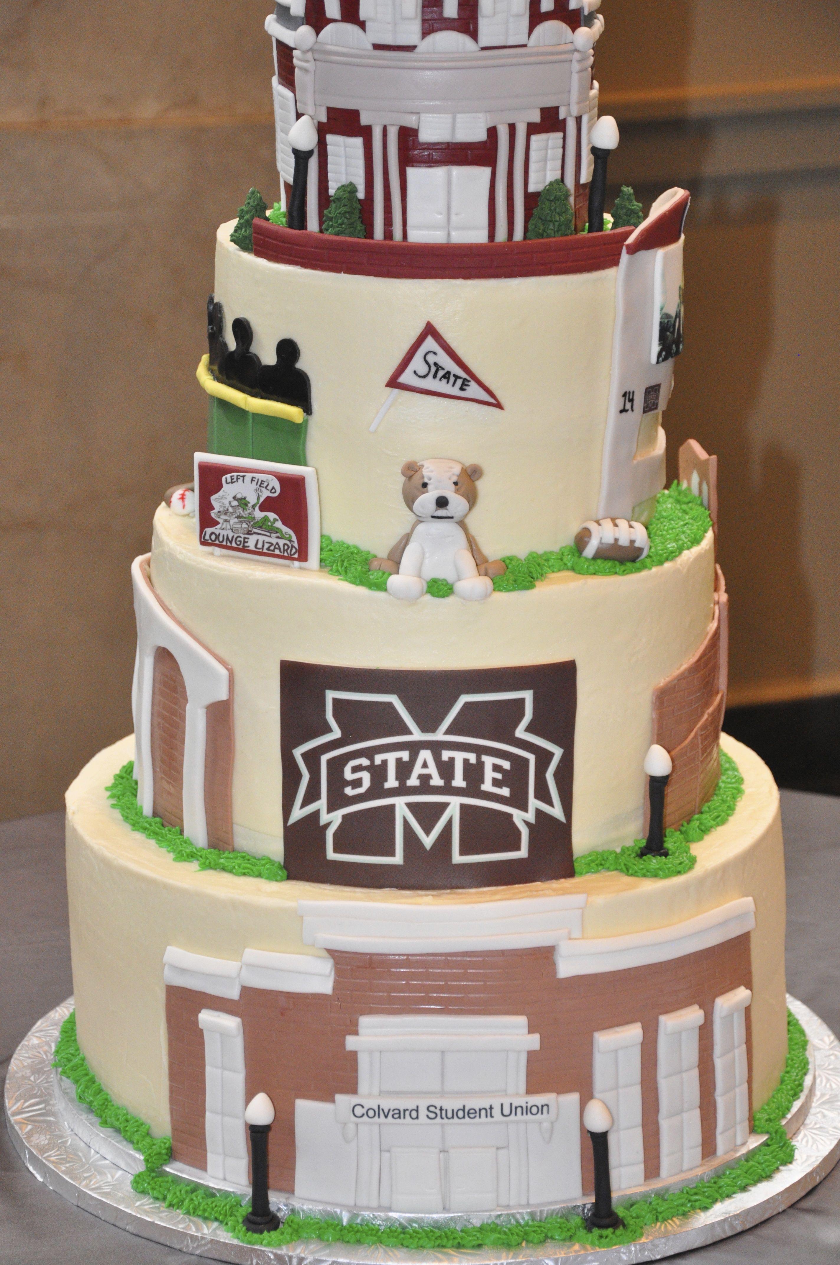 Mississippi State Groom Cake Groomcake Frostbakeshop