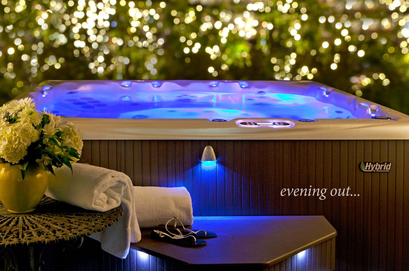 Don T Know What To Get That Special Someone How About The Relaxation Of A Spa From Picture Perfect Pools And Affo Hot Tub Brands Luxury Hot Tubs Hot Tub Patio