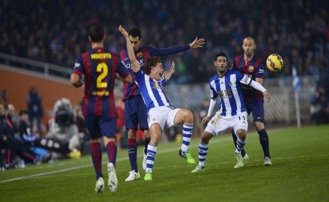 Barcelona FC vs Real Sociedad