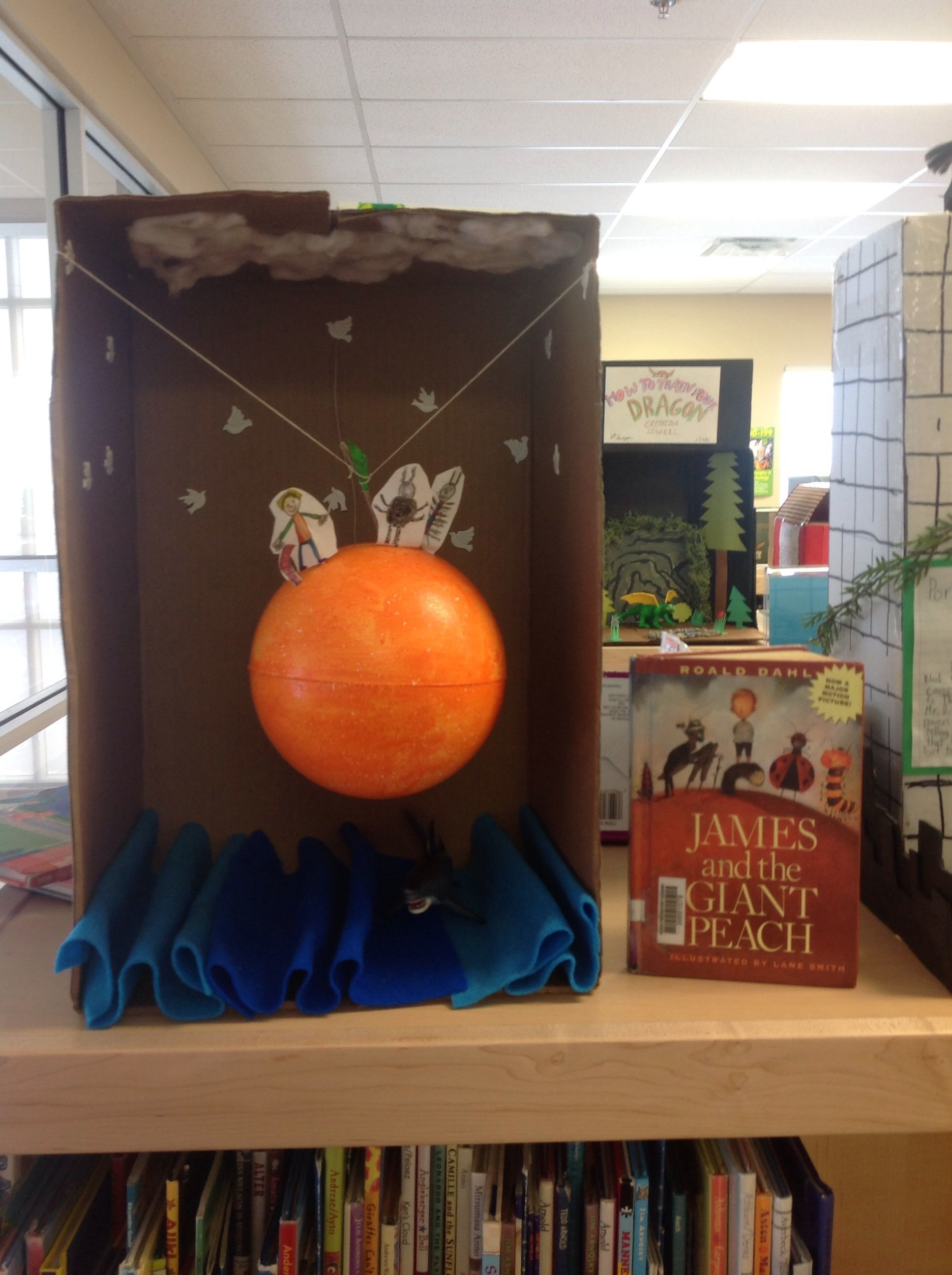 James And The Giant Peach School Projects Ideas The