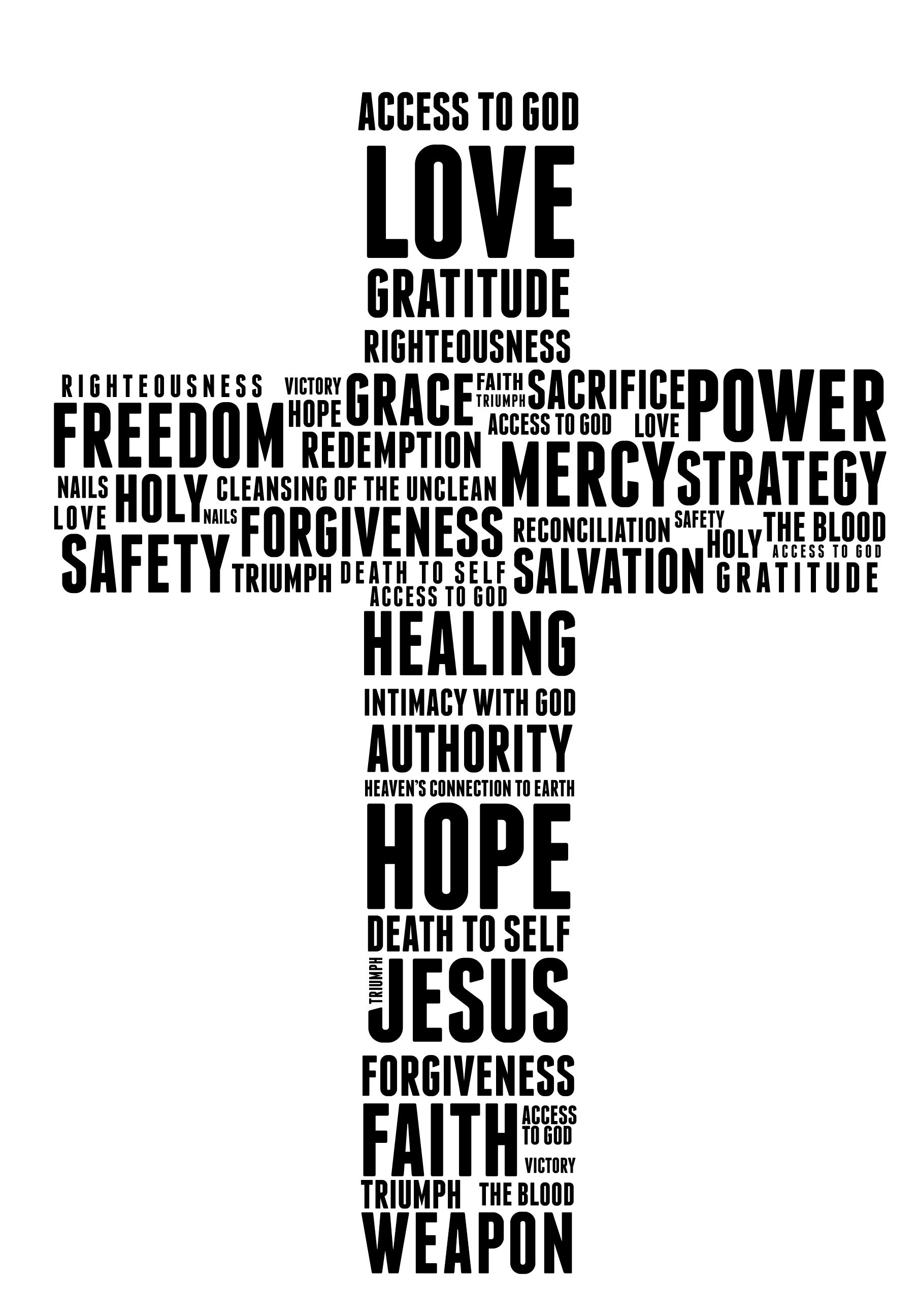 the benefits of the cross | Now and for ever | In christ