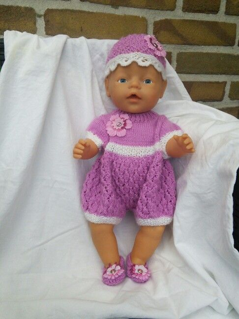 Patroon amelia | Baby Born & andere Puppen | Pinterest
